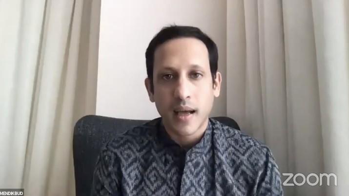 Menteri Pendidikan dan Kebudayaan Nadiem Makarim (Tangkapan Layar Youtube KEMENDIKBUD RI)