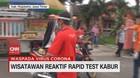 VIDEO: Merasa Sehat, Warga Tolak Rapid Test