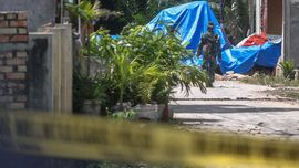 Rumah Rusak Akibat Pesawat TNI Jatuh di Riau Mulai Diperbaiki