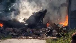 Kesaksian Pegawai PLN yang Rumahnya Tertimpa Pesawat TNI AU