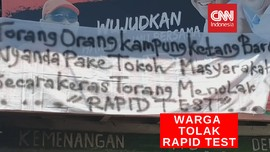VIDEO: Warga Tolak Rapid Test