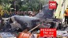 VIDEO: Pesawat Hawk 200 TNI Jatuh di Pekanbaru