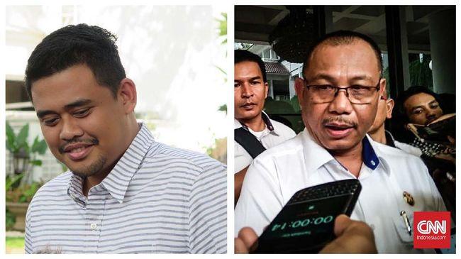 Dalam debat kedua Pilkada Medan, cawalkot petahana Akhyar Nasution kerap menjawab pertanyaan Bobby Nasution dengan suara lantang.