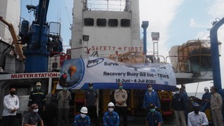 4 Alat Diperbaiki, 1 Buoy Baru Dipasang di Selatan Jawa