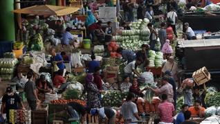 Pedagang Pasar Positif Corona Tembus 1.392 Orang