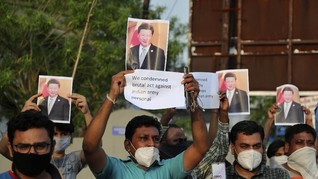 Menlu China-India Sepakat Damai Atasi Bentrok di Perbatasan