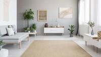 <p>Karpet yang warnanya berbeda dengan dinding menjadi point of interest di dalam ruangan. (Foto: iStock)</p>