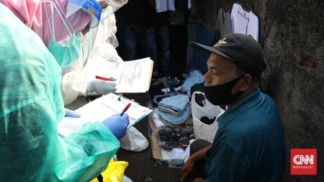 BNPB menyatakan baru delapan daerah yang sudah memenuhi saran WHO dalam melakukan tes Covid-19, seperti Jakarta, Sumbar, Bali, Kalsel hingga Papua.