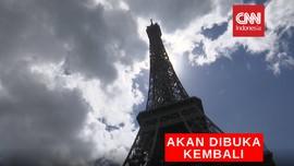 VIDEO: Menara Eiffel Akan Dibuka Kembali