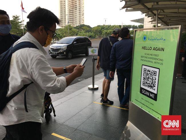 Cara Kerja Aplikasi Qr Code Batasi Pengunjung Mal Dki