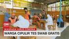 VIDEO: Warga Cipulir Sambut Positif Tes Swab Gratis