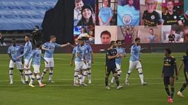 FOTO: David Luiz Blunder, Manchester City Hajar Arsenal