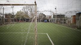 FOTO: Asa Pesepakbola Muda Argentina Mandek karena Corona