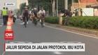 VIDEO: Jalur Sepeda di Jalan Protokol Ibu Kota