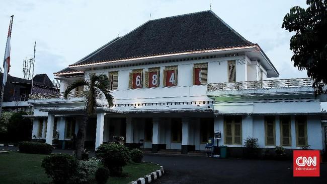 Museum Perumusan Naskah Proklamasi tempat di mana Soekarno-Hatta menandatangani naskah proklamasi.Kamis (18/6/2020). CNN Indonesia/Andry Novelino