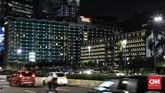 Hotel Indonesia merupakan bangunan yang menjadi pola pembangunan tata letak Kota Jakarta dengan bangunan-bangunan 'peninggalan' Soekarno yang sudah berevolusi sampai sekarang dan tetap menjadi ciri khas tersendiri bagi Bangsa Indonesia.Kamis (18/6/2020). CNN Indonesia/Andry Novelino