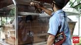 Peti jenazah asli mendiang Soekarno di Museum Prasasti, merupakan Peti Jenazah yang digunakan mendiang dari Rumah sakit ke Rumah Duka pada 21 Juni 1970 saat Bung Karno wafat.Kamis (18/6/2020). CNN Indonesia/Andry Novelino