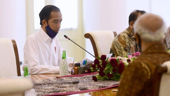 Presiden Joko Widodo bertemu dengan purnawirawan TNI/Polri di Istana Kepresidenan Bogor, Jumat (19/6) /  Foto: Muchlis - Biro Setpres