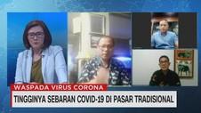 VIDEO: Pasar Berpotensi Menjadi Cluster Baru Virus Corona
