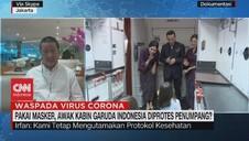 VIDEO: Pakai Masker, Pramugari Diprotes Penumpang