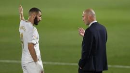 Real Madrid Krisis di Liga Champions, Zidane Tolak Mundur