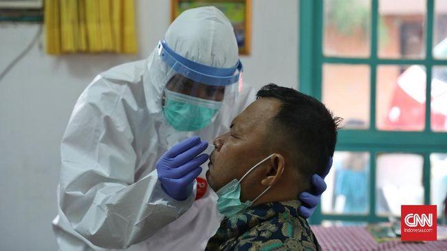 Kasus positif virus corona (COvid-19) di Ibu Kota bertambah 575 kasus baru dari hari sebelumnya.