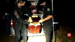 VIDEO: 300 Kilogram Ganja Ditemukan dalam Peti Korban Covid