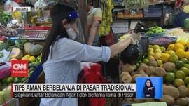 VIDEO: Tips Aman Berbelanja di Pasar Tradisional