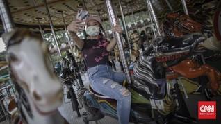 FOTO: Sepi Warga Ibu Kota Saat Wisata Kembali Dibuka