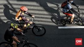 Jalanan PPKM Solo Dipakai Olahraga, Toron Madura Menurun