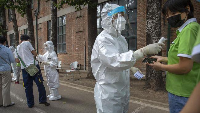 China mengungkap telah mendeteksi varian baru virus corona dari Inggris di wilayahnya, Rabu (20/1).