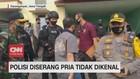 VIDEO: Polisi Diserang Pria Tidak Dikenal