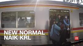 VIDEO: New Normal di KRL