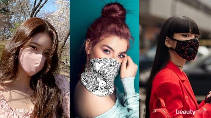 7 Tips Tetap Cantik dan Stylish Memakai Masker Saat Pandemi