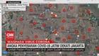 VIDEO: Angka Penyebaran Covid-19 di Jatim Dekati Jakarta