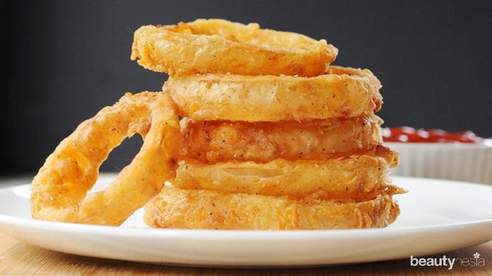 Resep dan Tips Membuat Onion Ring Krispi Anti Gagal