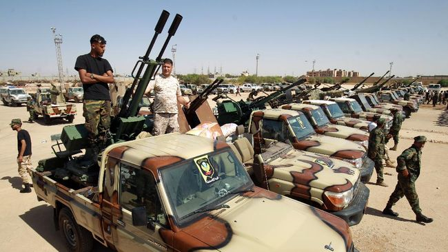 Parlemen Mesir sepakat jika pemerintah ingin menempatkan pasukan di dekat wilayah Libya guna menjaga keamanan dari milisi bersenjata.