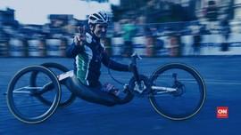 VIDEO: Eks Pembalap F1 Alex Zanardi Kecelakaan Handbike