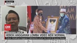 VIDEO: Heboh Anggaran Lomba Video New Normal