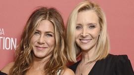 Jennifer Aniston-Lisa Kudrow Kenang kala Bersama di Friends