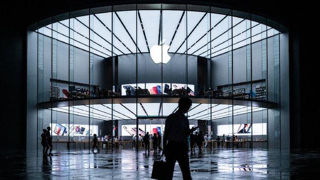 Valuasi Apple meroket hampir US$2 triliun atau setara dengan Rp29.595 triliun.
