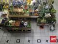 FOTO : Protokol Kesehatan Cegah Covid-19 Ala Pasar Santa