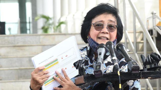 Menteri Lingkungan Hidup dan Kehutanan Siti Nurbaya menyatakan 18 ribu ton limbah medis itu belum menggambarkan angka sesungguhnya.