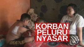 VIDEO: Bocah 11 Tahun Terkena Peluru Nyasar