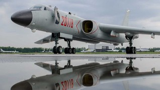 Spesifikasi Pesawat Pengebom Xian H-6 China Provokasi Taiwan