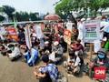Bocah Tangerang Demo RUU HIP: Katanya Istiqlal Mau Ditutup