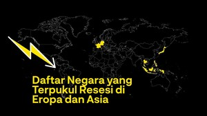 INFOGRAFIS: Daftar Negara yang Terpukul Resesi Akibat Corona