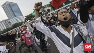 Massa Anti-RUU HIP dan RUU Ciptaker Akan Demo DPR Hari Ini