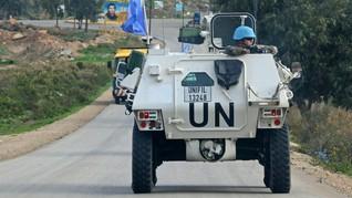90 Anggota Pasukan Penjaga Perdamaian Libanon Positif Corona