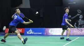 Hasil PBSI Home Tournament: Kevin/Reza Tumbang